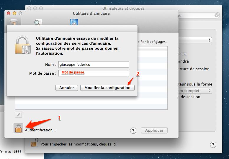 activer root l'utilsateur root sur mac os 6