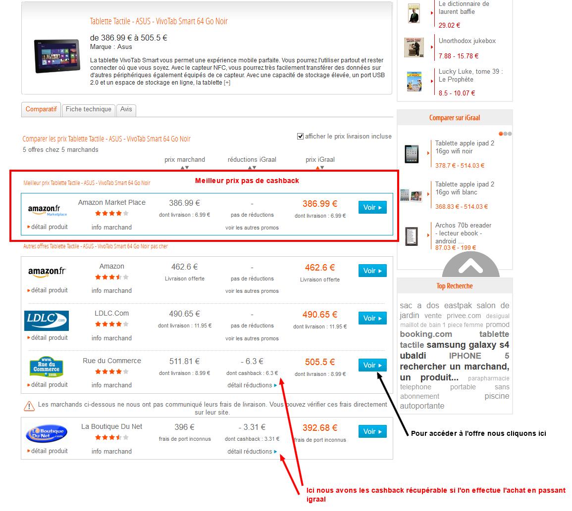 Comparer les prix Tablette Tactile - ASUS - VivoTab Smart 64 Go Noir 2013-08-10 12-32-07