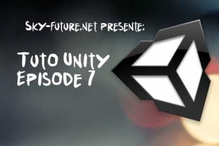 Création d'un FPS sous Unity : Episode 7