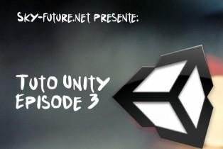 Création d'un FPS sous Unity : Episode 3