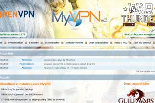 MyVPN ou comment améliorer les jeux en lignes