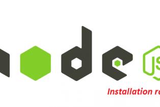 Installer node.js sur debian simplement et rapidement