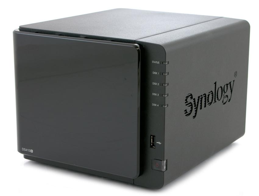 Test du NAS : DS415+ de Synology