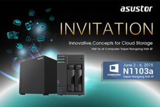 Asustor : De nouveaux modèles a la Computex 2015