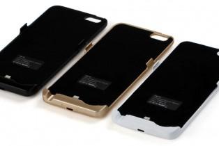 Une batterie externe de 5800 mAh sous forme de coque pour Iphone 6plus.