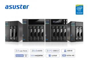 Sortie de NAS ASUSTOR avec Processeurs Intel Braswell
