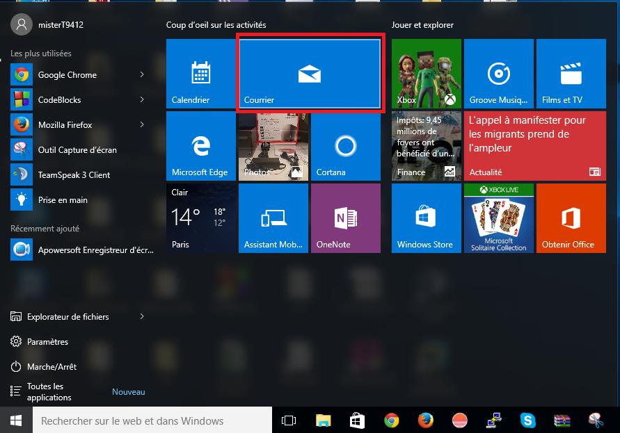 Mail Windows10