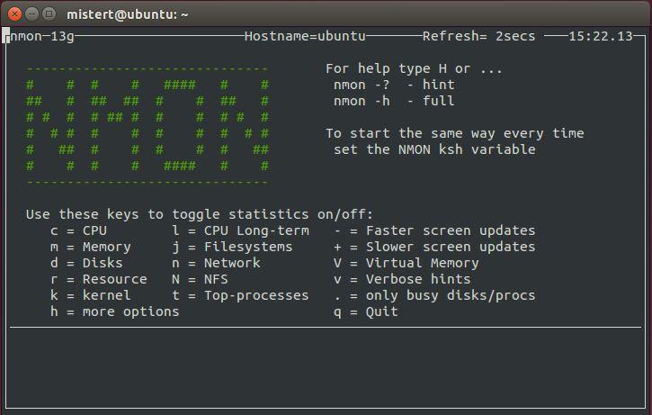 Moniteur Système Linux