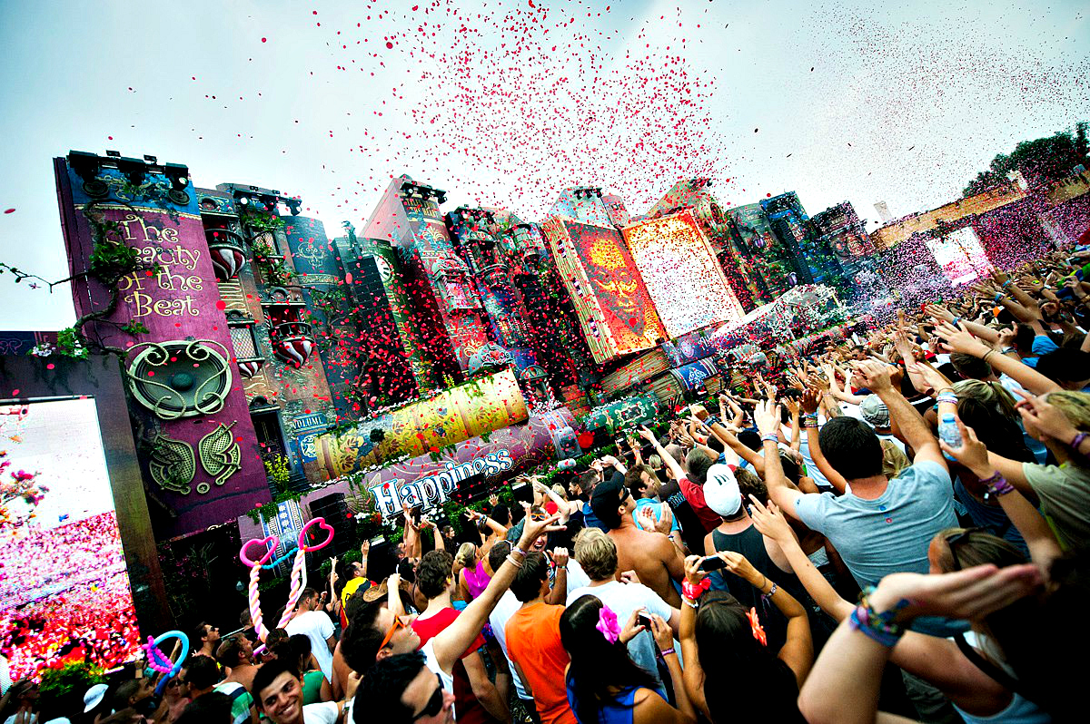 Tomorrowland en Live sur Youtube