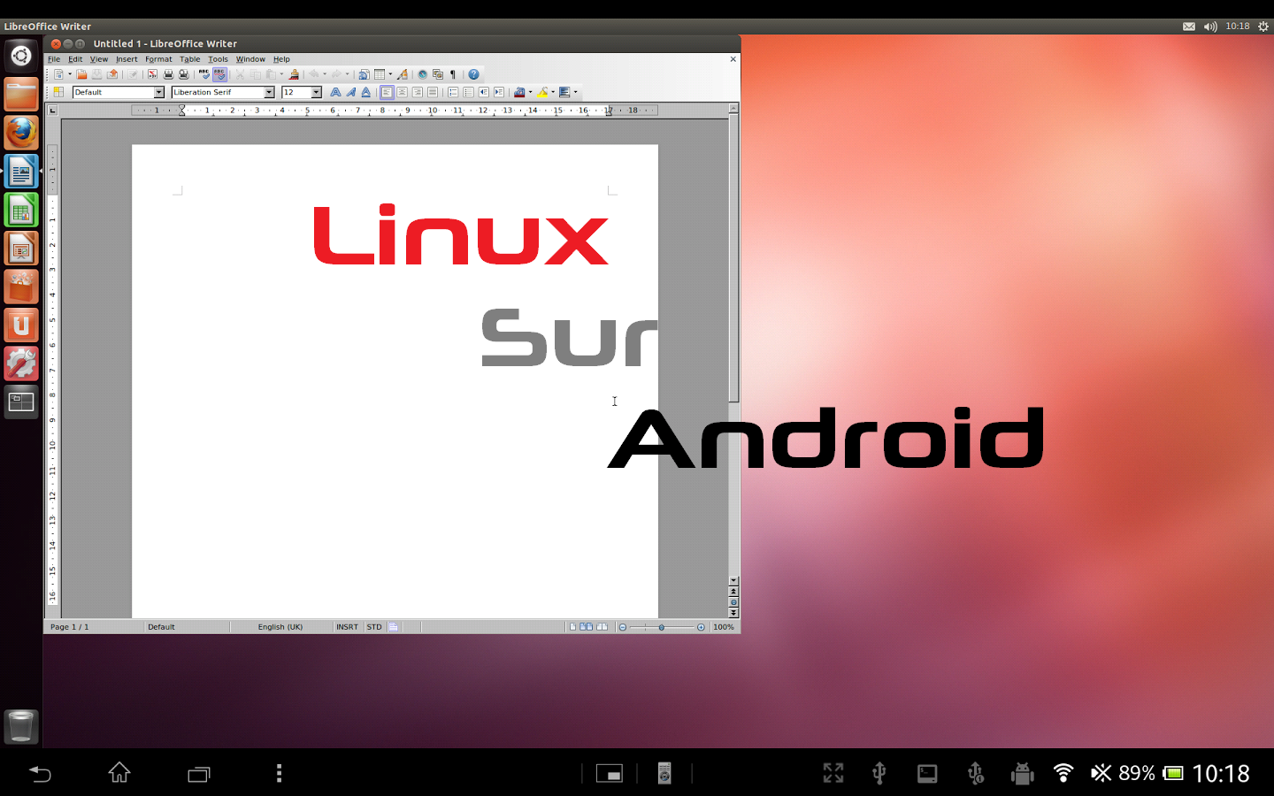 Installer une distribution linux sous android