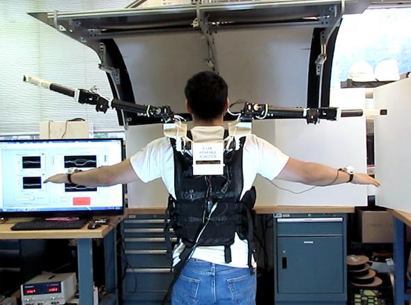 une paire de bras robotiques supplémentaire !
