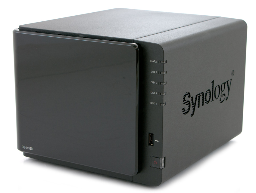 Test du NAS : DS415+ de Synology