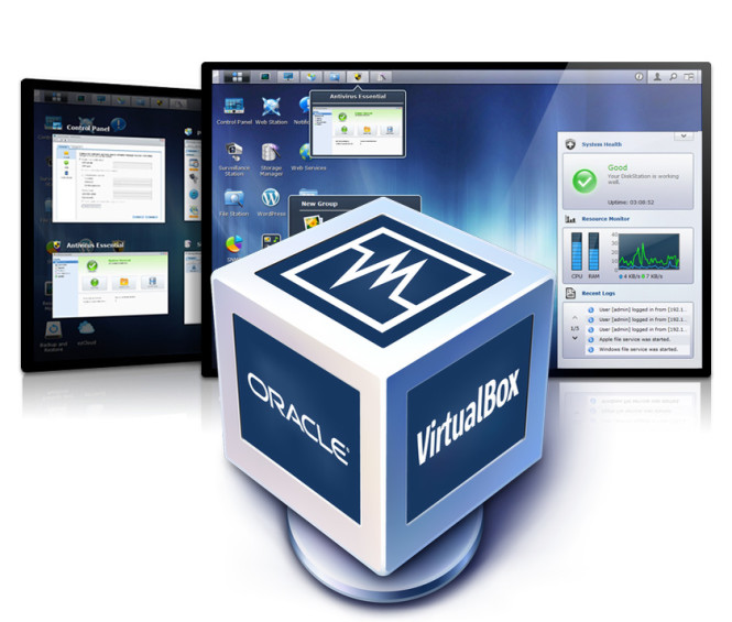 Comment installer Virtualbox sur un NAS Synology
