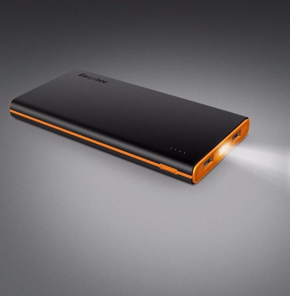 Test de la batterie portable Powerbank PB10000CF de EasyAcc.