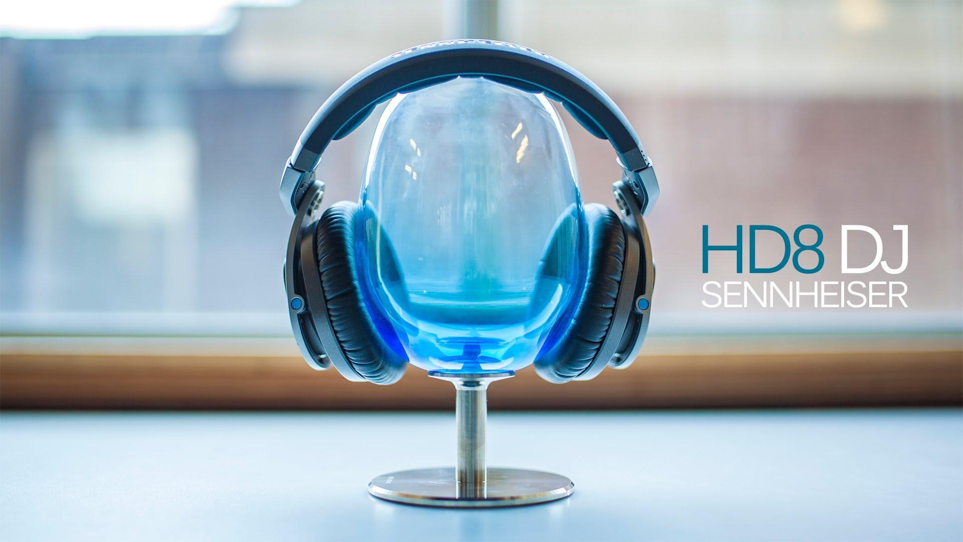Test casque Seinnheiser HD8 DJ pro