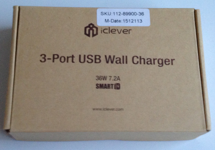 Test du chargeur USB 3 ports d'iClever