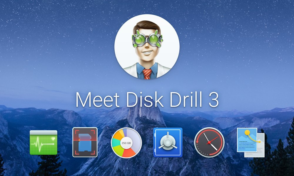 Test de Disk Drill 3 pour Mac / Windows