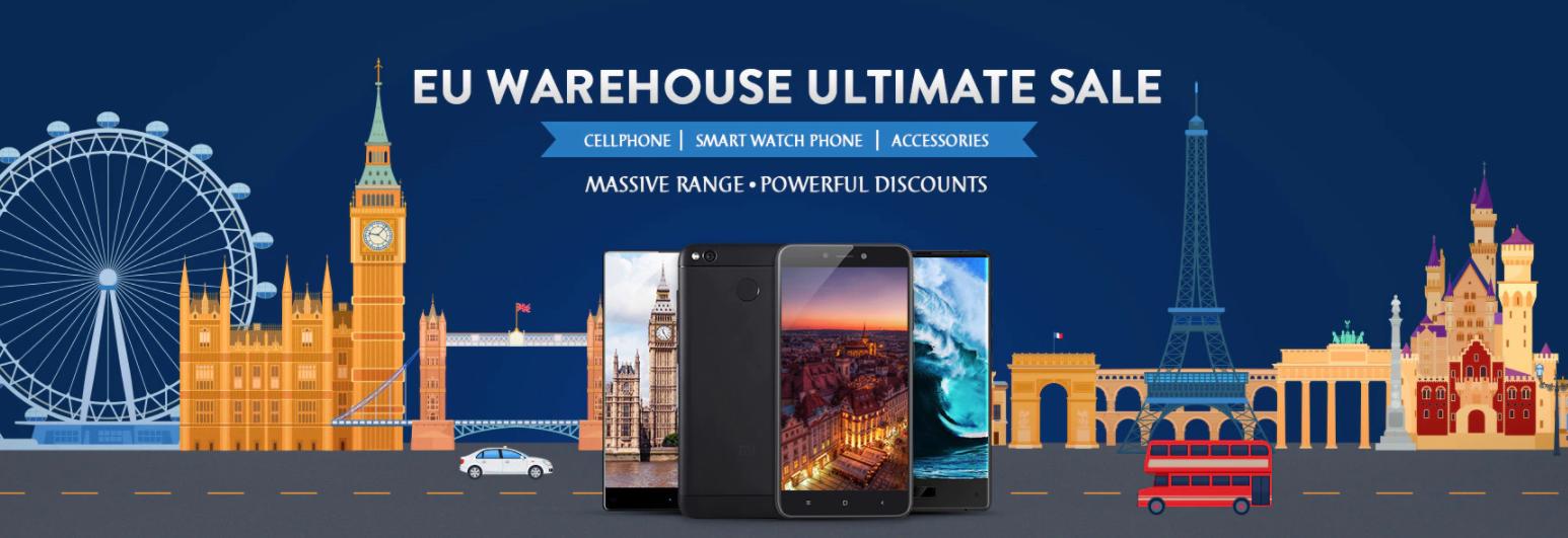 Gearbest : Les Bons Plans Xiaomi dans l'entrepôt Européens.