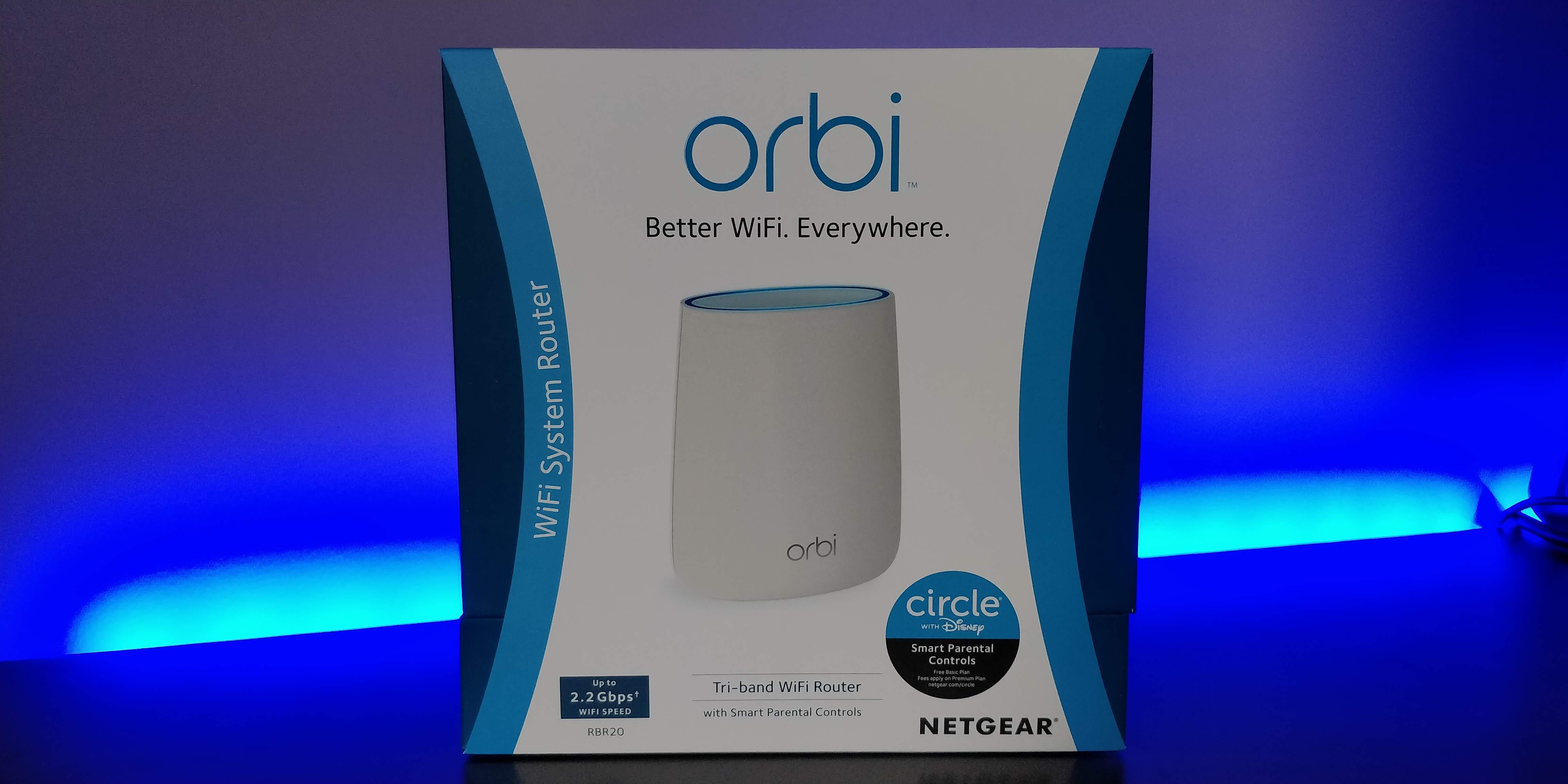 Test Orbi RBR20: Un routeur performant.