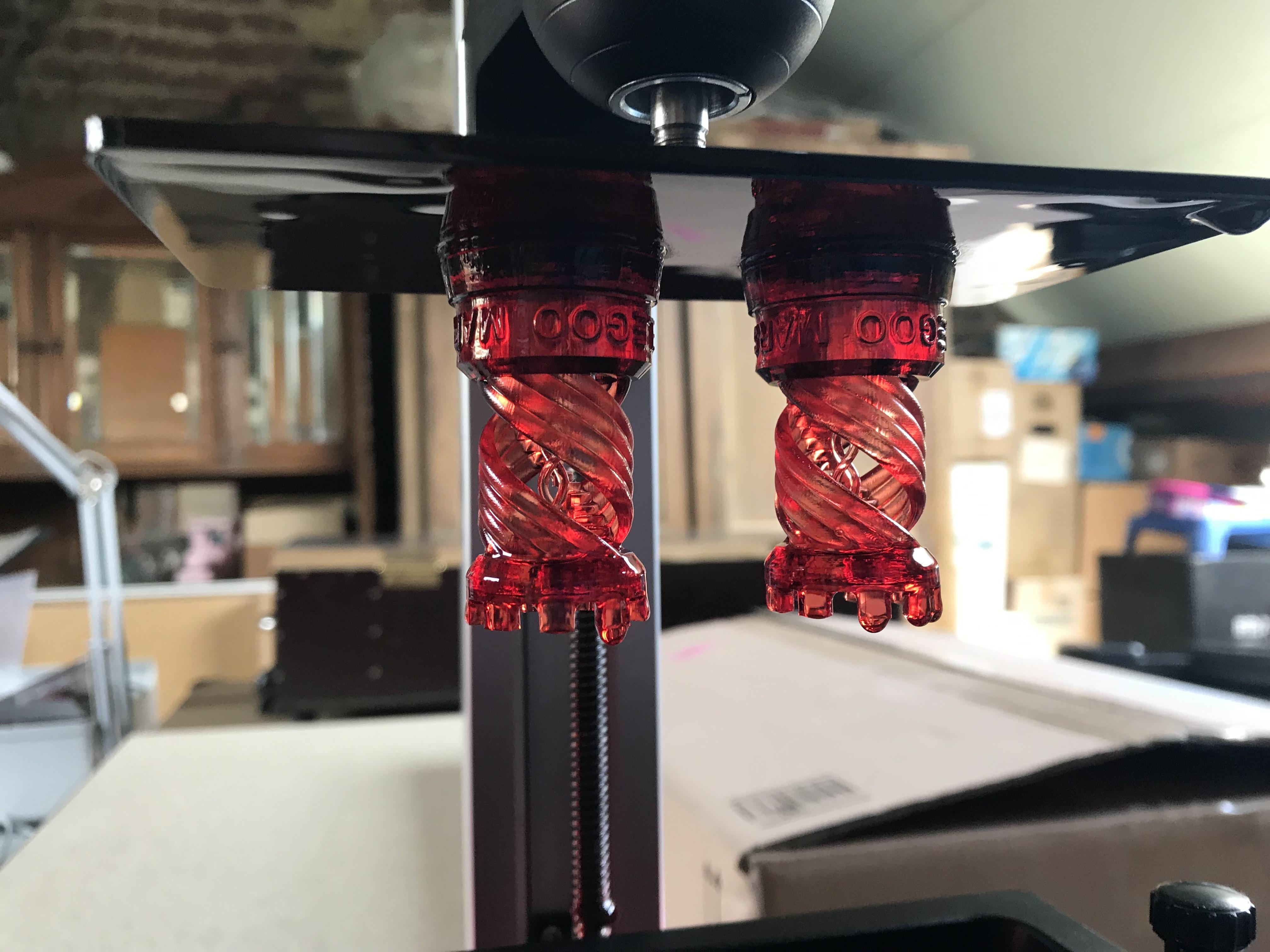 Post traitement des impressions 3D résine