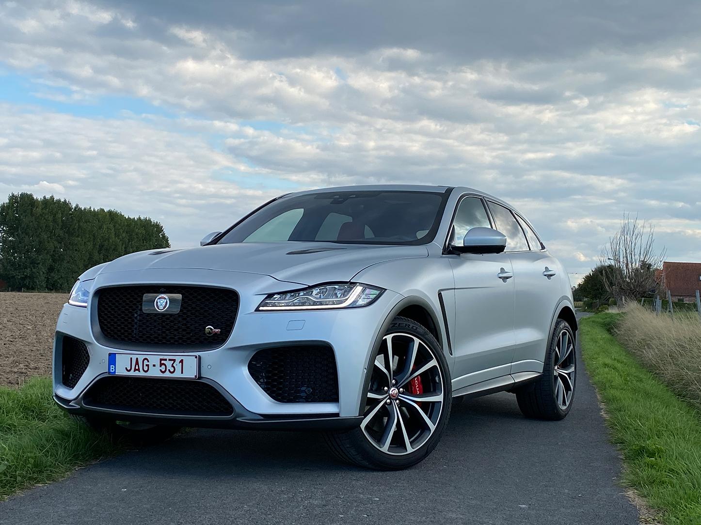 Test du F-Pace SVR, le super SUV signé Jaguar